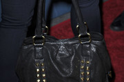 Mena Suvari Studded Shoulder Bag