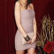 Michelle Keegan Clothes - Strapless Dress