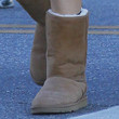 Michelle Monaghan Shoes - Sheepskin Boots