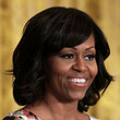 Michelle Obama Hair - Medium Wavy Cut