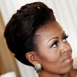 Michelle Obama Hair - Pompadour