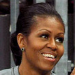 Michelle Obama Hair - Ponytail