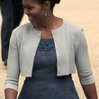 Michelle Obama Shrug Sweater