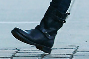 Michelle Williams Motorcycle Boots