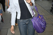 Michelle Williams (singer) Leather Shoulder Bag
