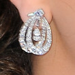 Mila Kunis Jewelry - Dangling Diamond Earrings