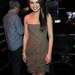 Mila Kunis Strapless Dress