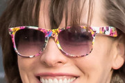 Milla Jovovich Novelty Sunglasses