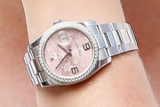 Mirka Federer Sterling Bracelet Watch