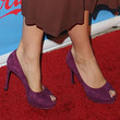 Molly Sims Peep Toe Pumps