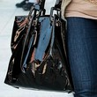 Morgan Fairchild Handbags - Patent Leather Tote