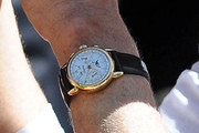 Calvin Klein Leather Band Chronograph Watch