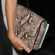 Naomi Watts Leather Clutch