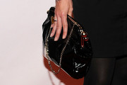 Neve Campbell Patent Leather Purse