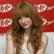 Nicola Roberts Hair - Long Straight Cut with Bangs