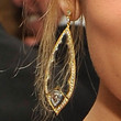 Nicole Richie Jewelry - Dangling Diamond Earrings