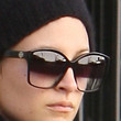 Nicole Richie Square Sunglasses