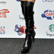 Nicole Scherzinger Shoes - Over the Knee Boots