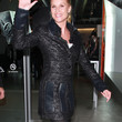 Nicollette Sheridan Evening Coat
