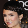Nina Dobrev Hair - Braided Updo