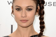 Olga Kurylenko Long Braided Hairstyle
