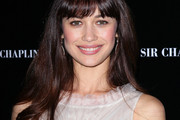 Olga Kurylenko Long Straight Cut with Bangs