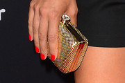 Zoe Bell Metallic Clutch