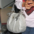 Paris Hilton Metallic Shoulder Bag