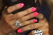 Paris Hilton Nails