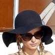 Paris Hilton Straw Hat