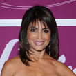 Paula Abdul Medium Straight Cut with Bangs
