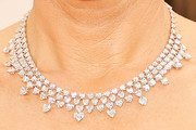 Penelope Ann Miller Diamond Choker Necklace