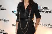 Penelope Cruz Layered Gold Necklace