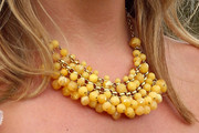 Penny Lancaster Glass Beaded Necklace