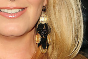 Penny Lancaster Gold Chandelier Earrings