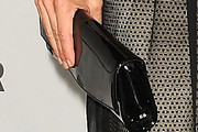 Perrey Reeves Patent Leather Clutch