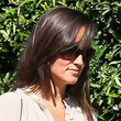 Pippa Middleton Hair - Medium Straight Cut with Bangs