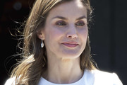 Queen Letizia of Spain Long Hairstyles