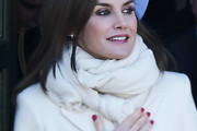 Queen Letizia of Spain Scarves
