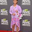 Quvenzhane Wallis Clothes - Print Dress