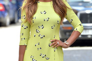 Rochelle Humes Day Dress