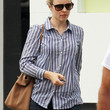 Rachel McAdams Clothes - Button Down Shirt