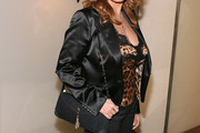 Raquel Welch Suede Shoulder Bag