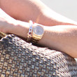 Reese Witherspoon Gold Chronograph Watch