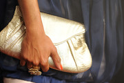 Regina King Gemstone Inlaid Clutch