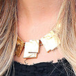 Renee Bargh Jewelry - Gold Statement Necklace