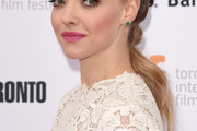 Amanda Seyfried Long Partially Braided