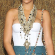 Rihanna Layered Beaded Necklace