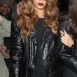 Rihanna Clothes - Leather Jacket