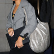 Rihanna Metallic Hobo